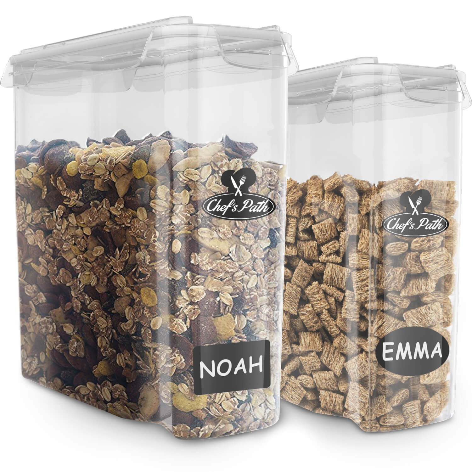 Chefs Path Cereal Storage Container Set 100 Airtight Best Dry